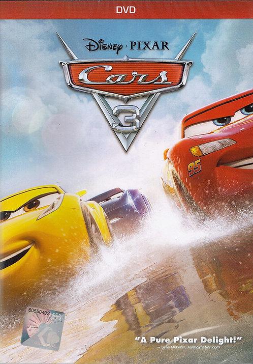 DVD: Cars 3 赛车总动员