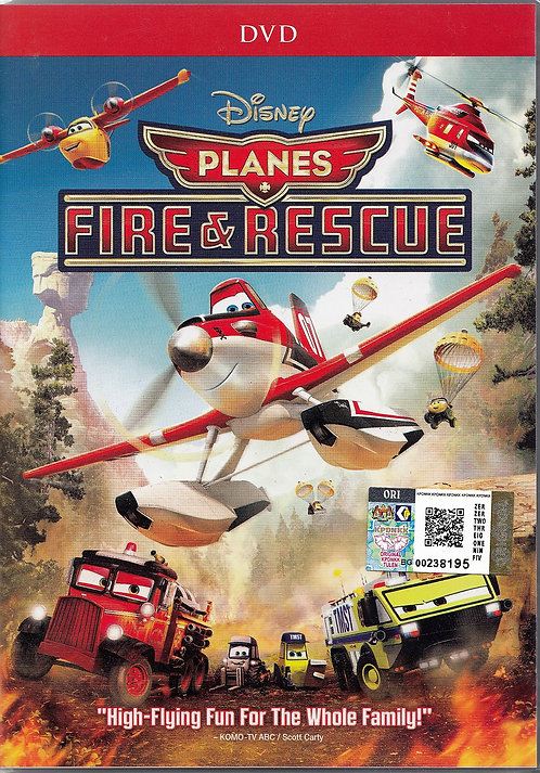 DVD: Planes - Fire and Rescue 飞机总动员 :火线救援