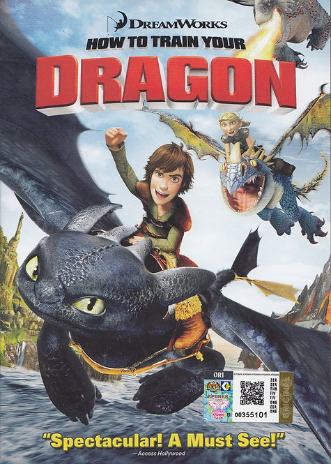 DVD: How to Train Your Dragon 驯龙高手