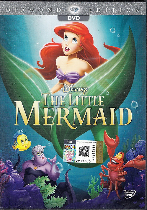 DVD: The Little Mermaid 小美人鱼