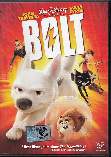 DVD: Bolt 闪电狗