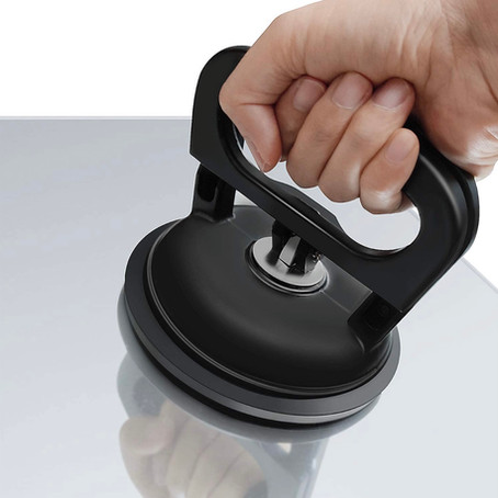 Vacuum suction cup - for carrying heavy things