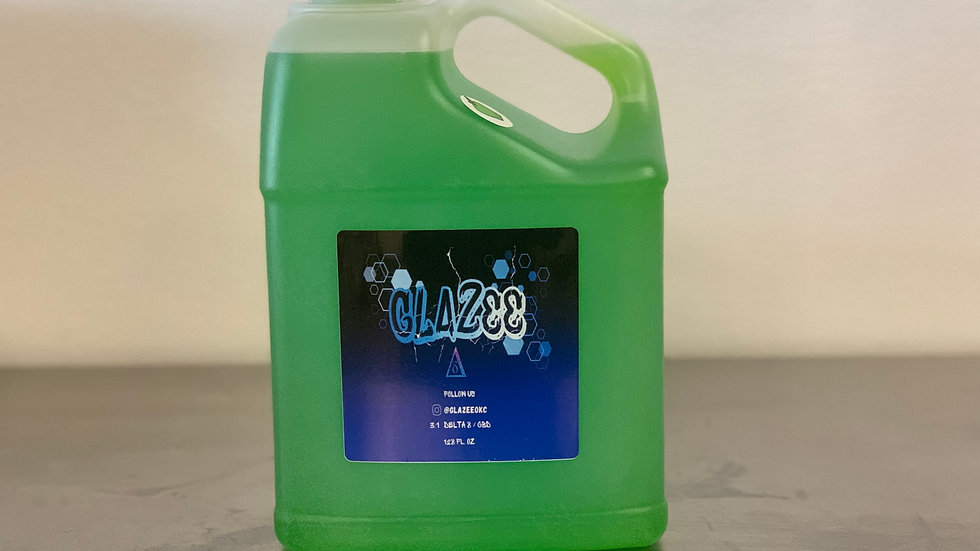 Delta 8 Glazee Syrup (1 case = 6 gallons)