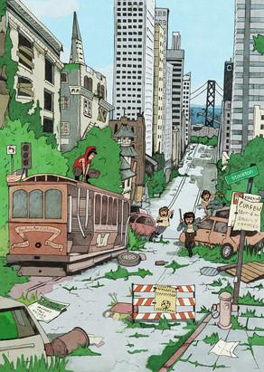 Post Apocalyptic San Francisco - Convention Merch