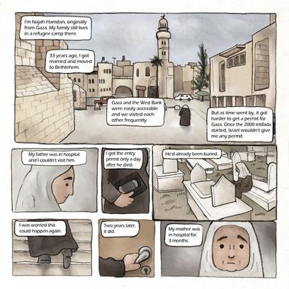 Najah Hamdan's Testimony