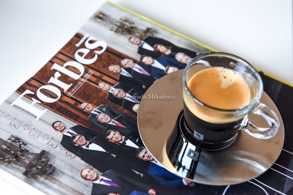 Presentation of the new Flavours by Nespresso Romania