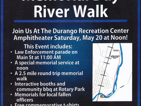Law Enforcement Memorial Day River Walk  (MAY 20, 2017)