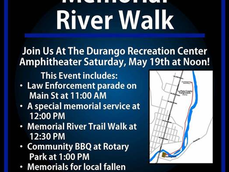 Law Enforcement Memorial Day River Walk  (MAY 19, 2018)