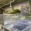 Thumbnail: 【中古水槽】1200×600×600 底背面黒 オーバーフローフルセット