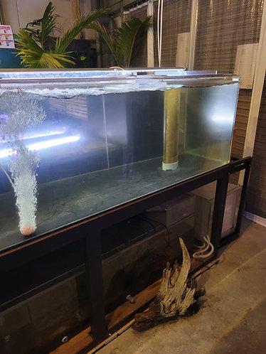 中古水槽 2300×750×600オーバーフローセット