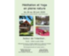 flyer meditation yoga pleine nature 2020