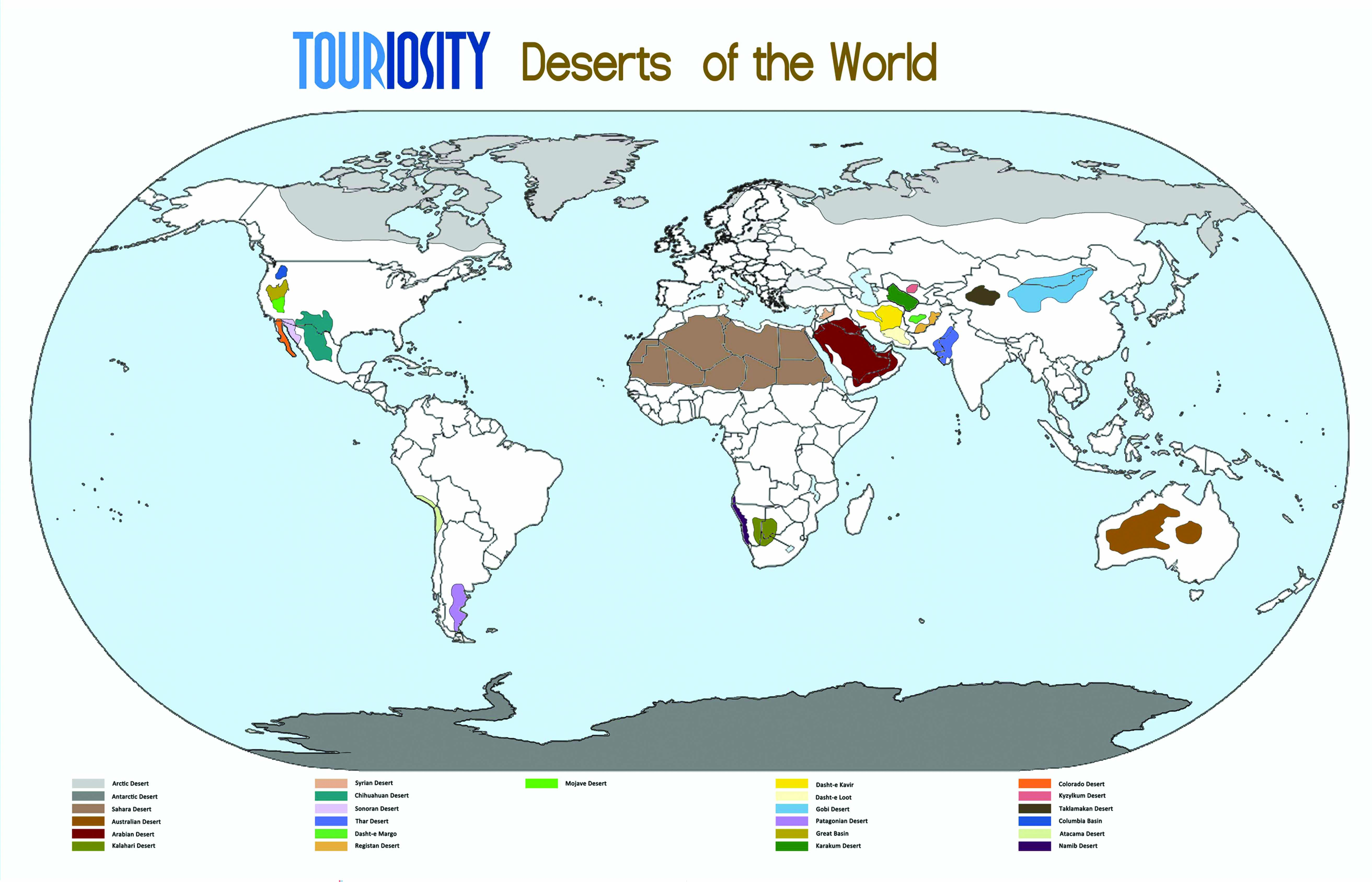 25 Deserts of the world