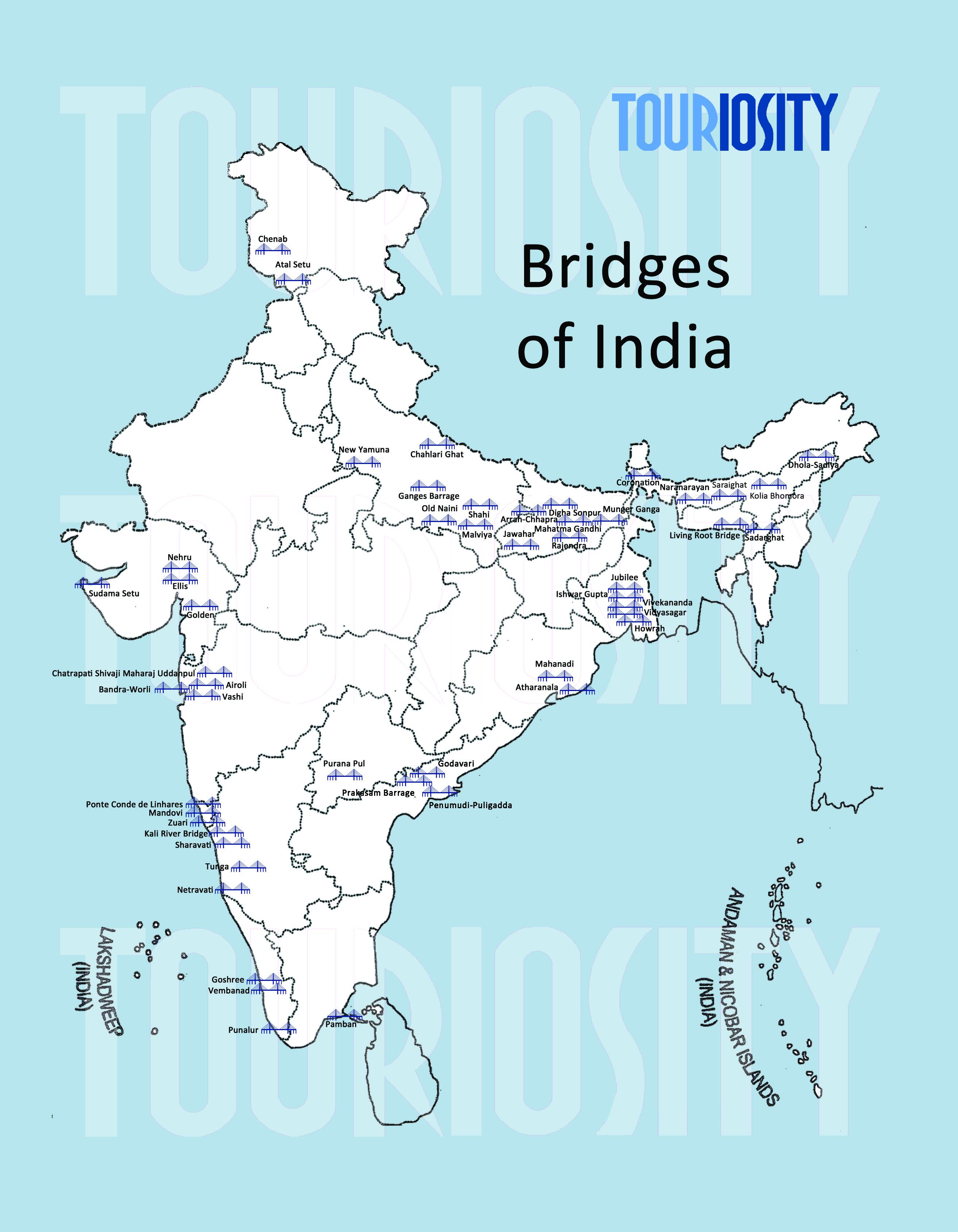 'Must See' Bridges in India