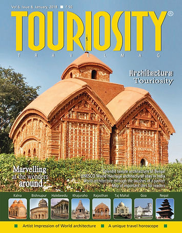 Architecture plays a big role in enhancing the appeal of tourist destinations and beautiful architecture is a delight for photographers. Because of this pivotal role of architecture in travel and tourism we thought of having an issue on architecture this month. The January 2018 issue brings to our readers architectural wonders from all over India and a first-of-its-kind list of UNESCO WHS architectural sites dotting the country.