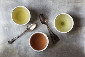 tres tazas de té
