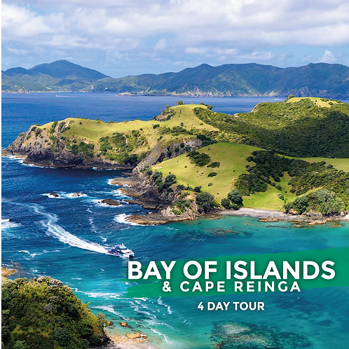 2nd to 5th April | Bay of Islands & Cape Reinga (4-Day Tour)