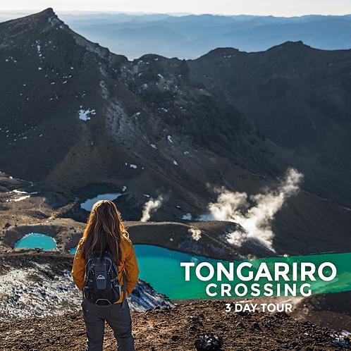 13th to 15th November | Tongariro Crossing (3-Day Tour)
