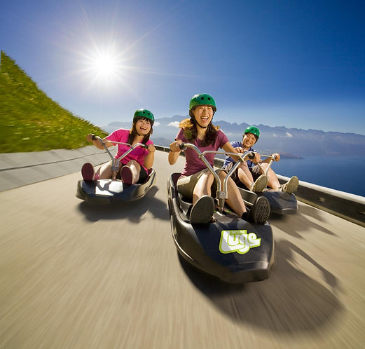 Gondola & 3 Luge Rides - AGED 15 OR OVER