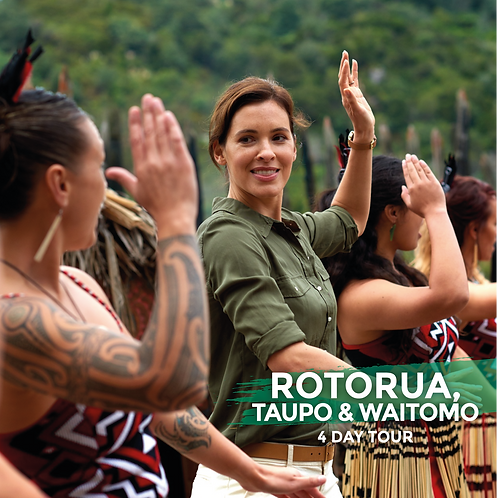 29th January to 1st February | Rotorua, Taupo & Waitomo (4-Day Tour)