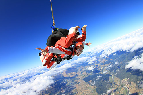 Abel Tasman Skydive -  9,000 ft