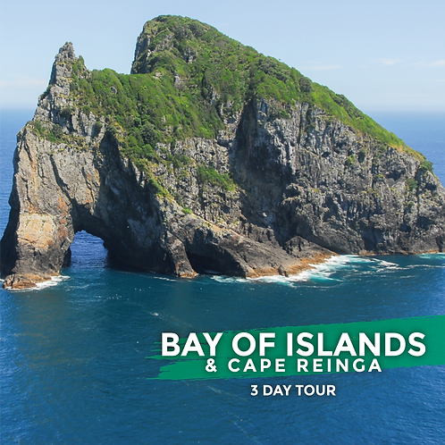 9th to 11th October | Bay of Islands & Cape Reinga (3-Day Tour)