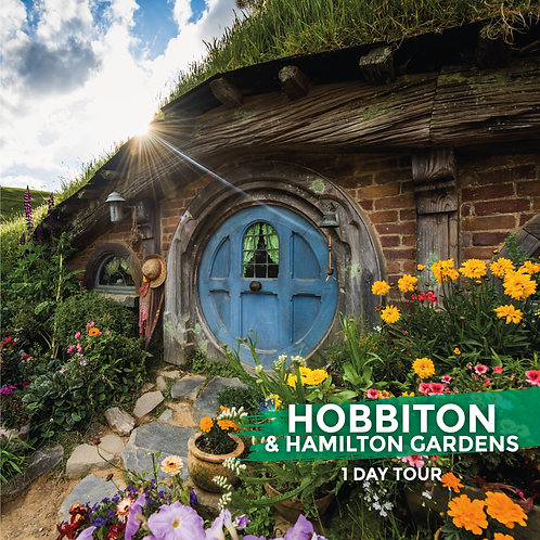 10th October | Hobbiton & Hamilton Gardens (Day Tour)