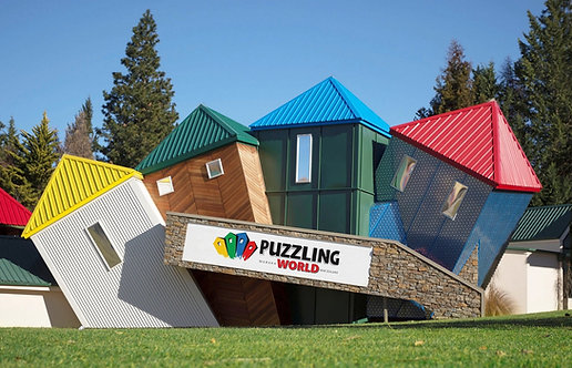 Puzzling World Entrance - AGED 16 OR OVER
