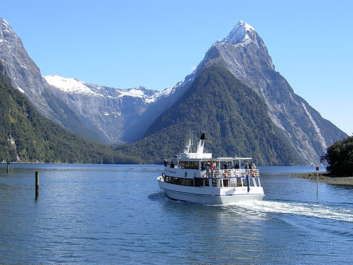 Milford Sound Cruise - AGED 15 OR OVER