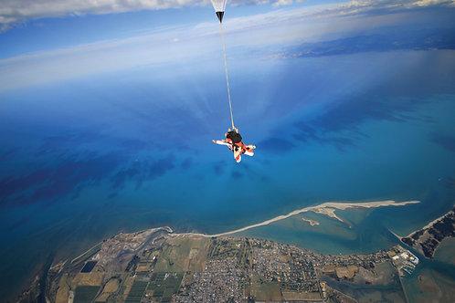 Abel Tasman Skydive -  16,500 ft