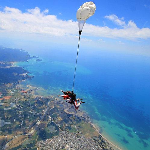 Abel Tasman Skydive -  13,000 ft
