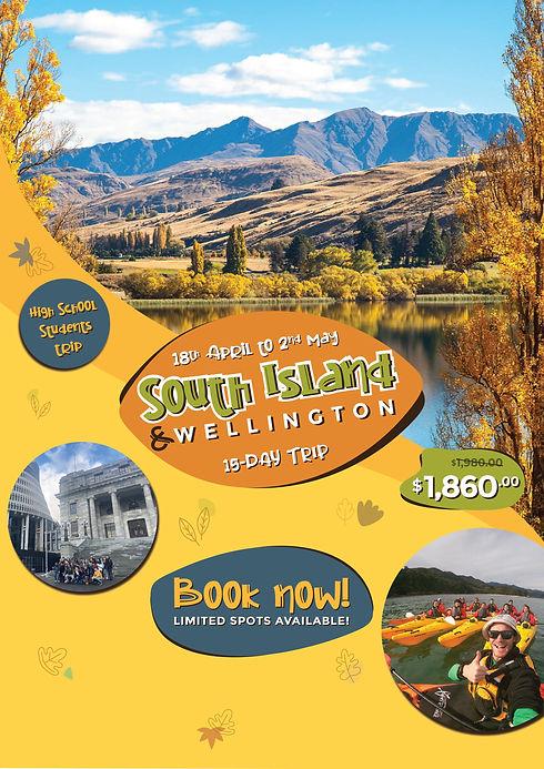 South Island - December Banner Website A