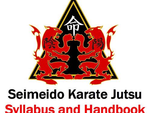 Karate Jutsu Syllabus 7th Kyu - 1st Kyu