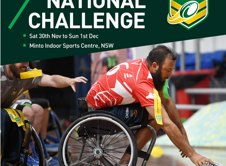 Inaugural NRL Wheelchair National Challenge