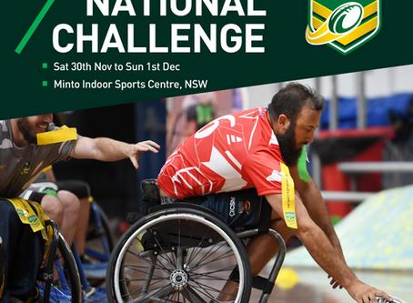 Inaugural NRL Wheelchair National Challenge