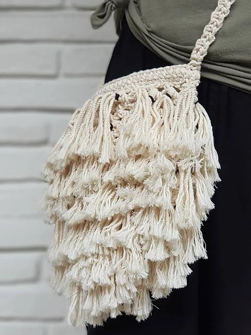 Crochet Shaggy Bag