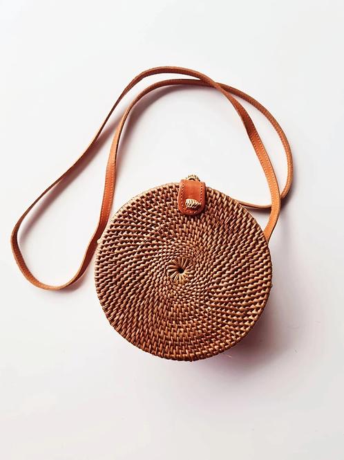 Rattan Natural Small Bag
