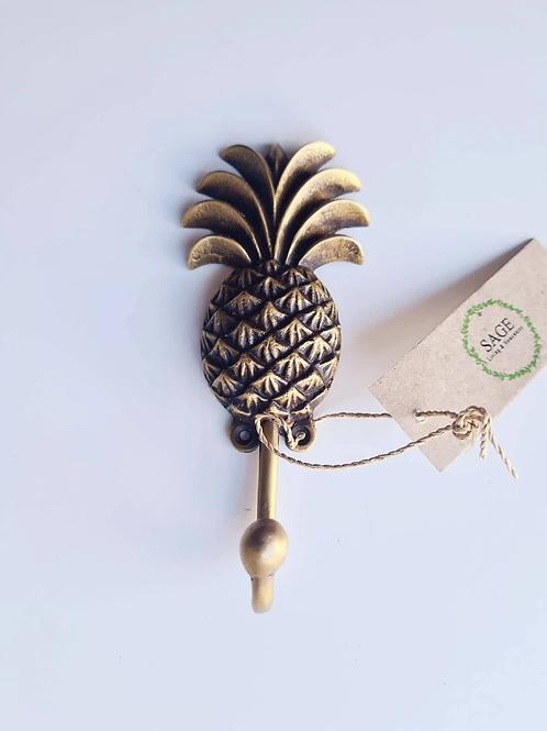 Brass Pineapple Hooks