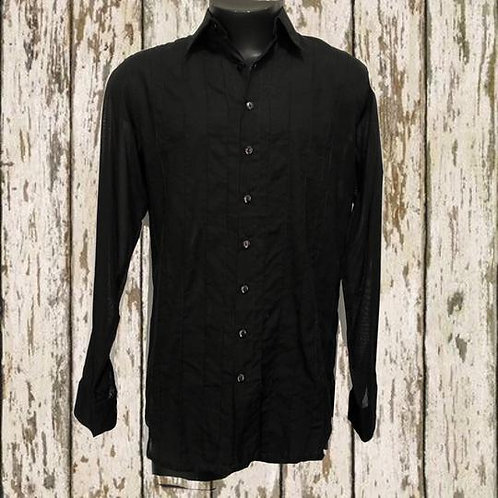 T1734C - Plain Black - Cotton