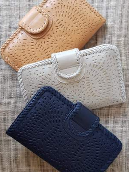Leather Wallet Clasp