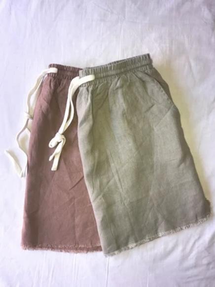 Little Lies Luxe Linen Skirt