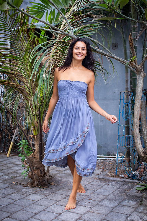 Women Resort Wear Clothing 2020 - TOPSKIRT Grey