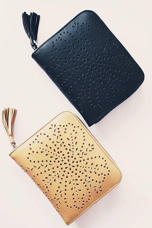 Leather Wallet Tassel