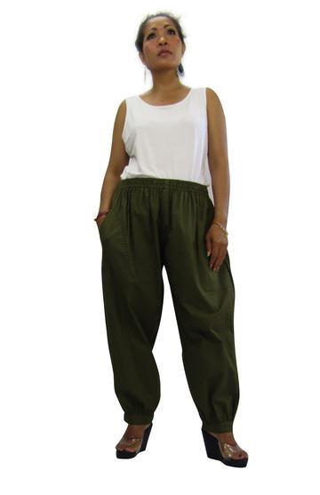 P3394B - Plain Khaki - Cotton Prima