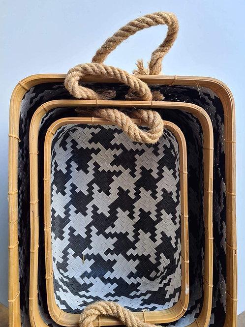 Oblong Baskets Set of 3