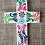 Thumbnail: Hand Painted Wooden Cross