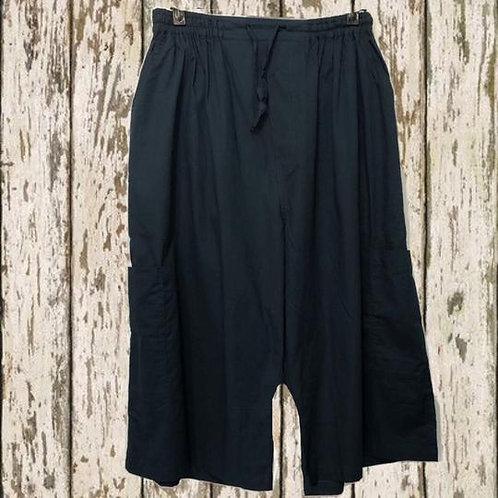MCS1 - Plain Black - Cotton