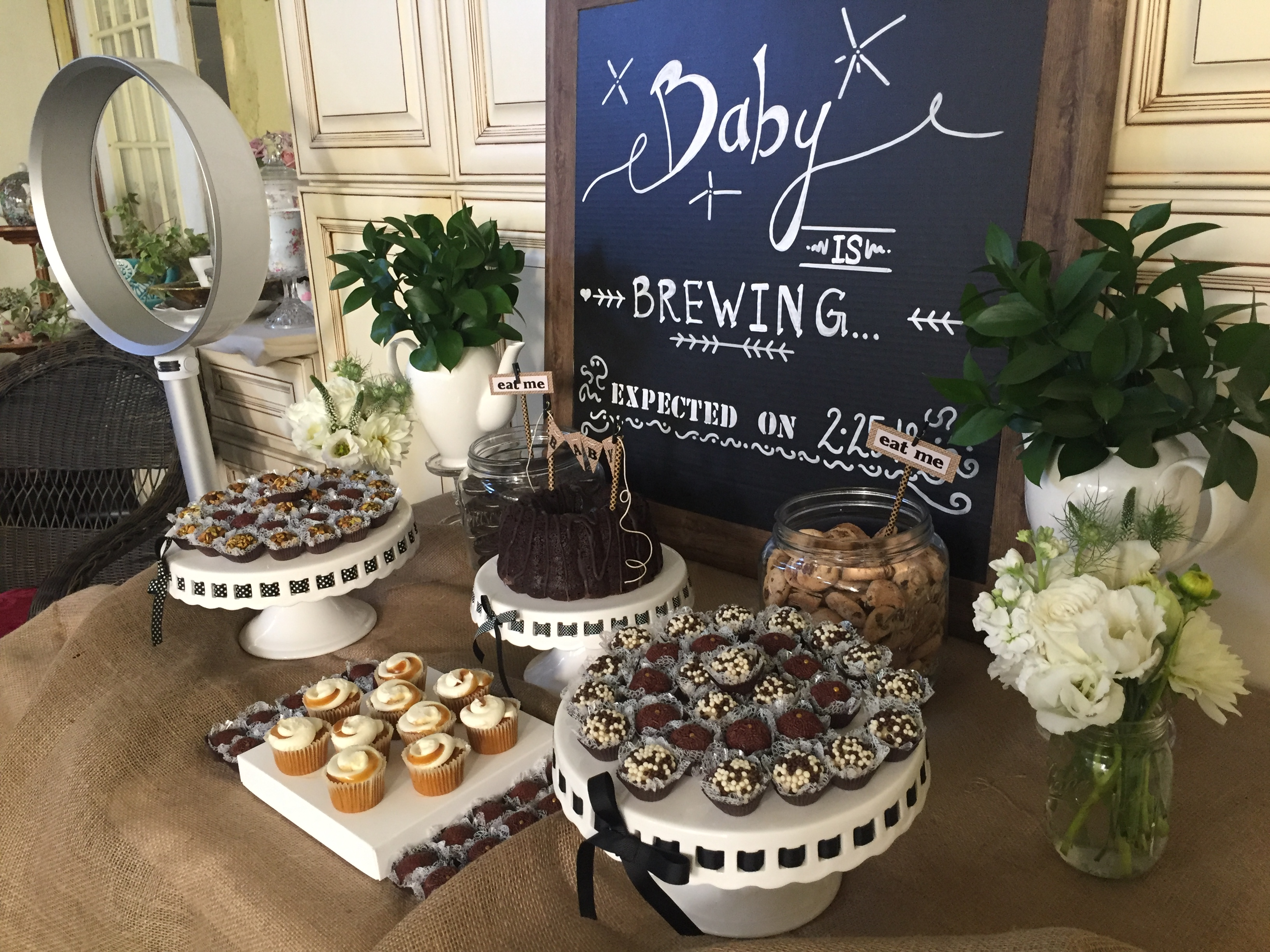 Rustic Themed Baby Shower