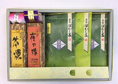 お茶と和菓子の詰合せ