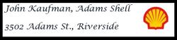 Adams Shell