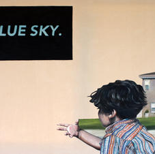 Untitled (Blue Sky.)